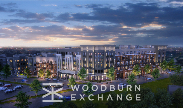 Rendering of Woodburn Exchange in Cincinnati