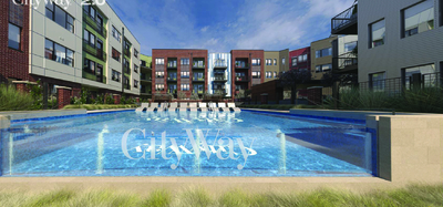 CityWay Phase Two Outdoor Pool in Downtown Indianapolis