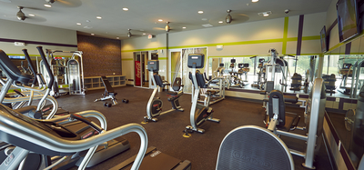 Fitness Center at The Cole in Columbus, Indiana